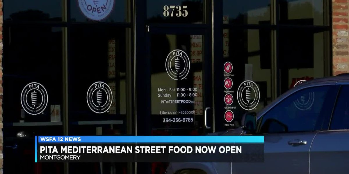 Pita Mediterranean Street food now open
