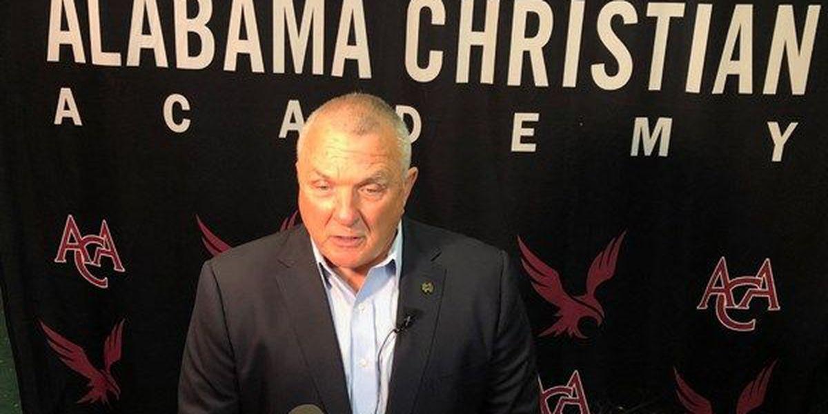 Rudy speaks at Alabama Christian Academy benefit dinner