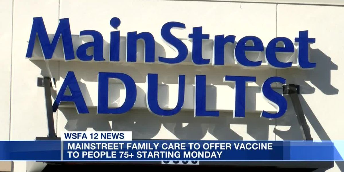 MainStreet Family Care to offer vaccine to people 75+ starting Monday