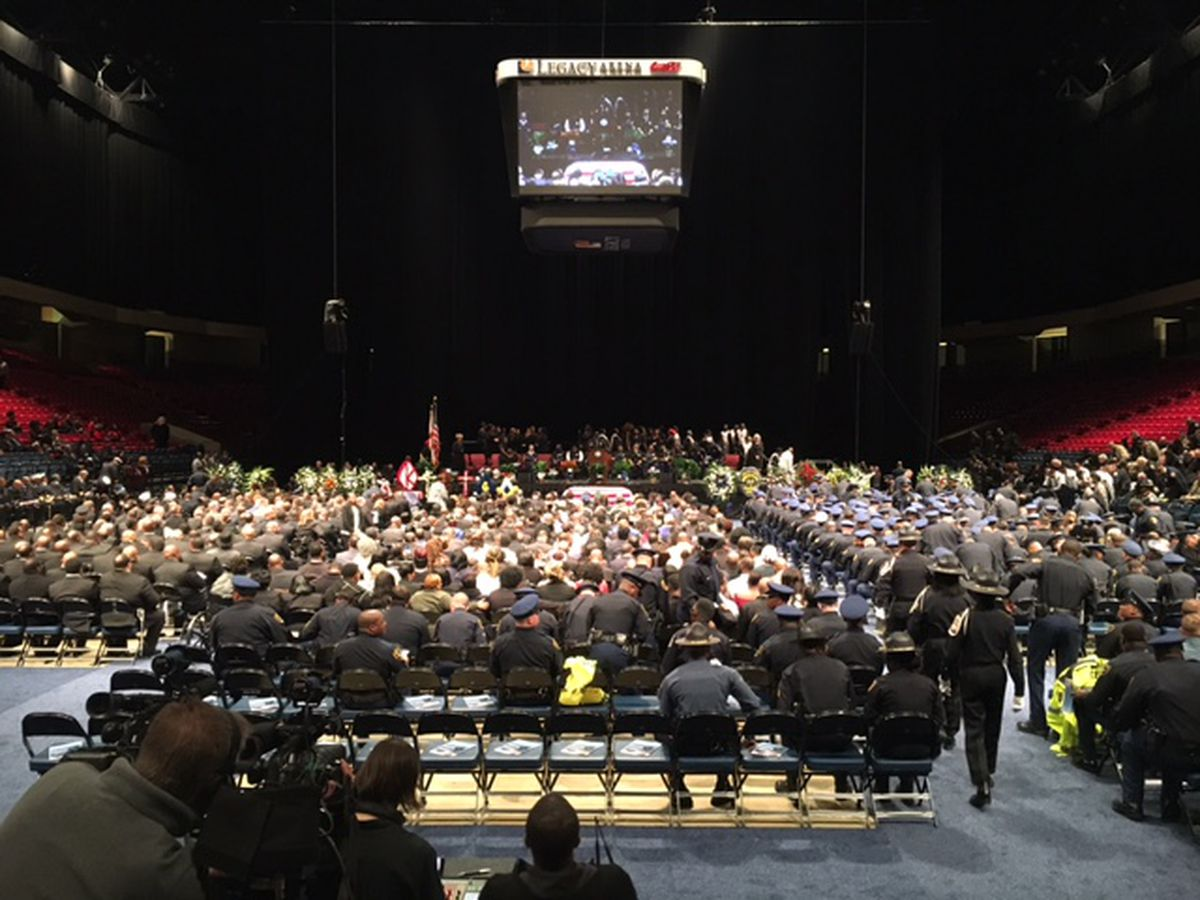 Remembering Sgt. Carter: Family, friends speak at funeral of fallen B'ham officer