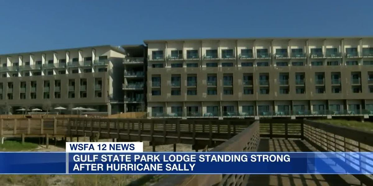 Gulf State Park lodge standing strong after Hurricane Sally