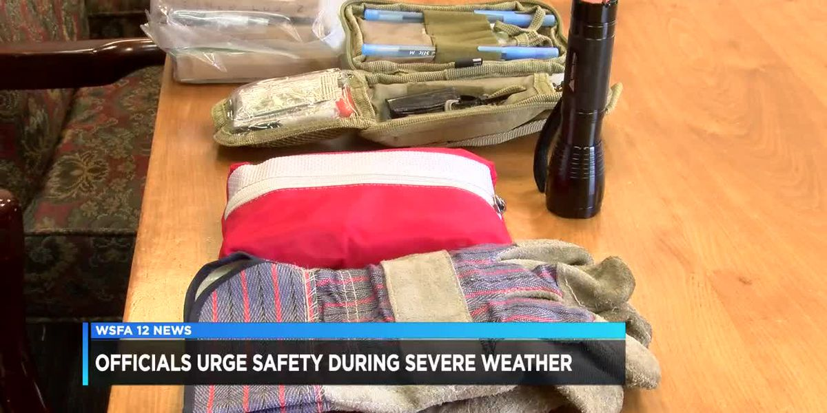 Officials urge safety during severe weather