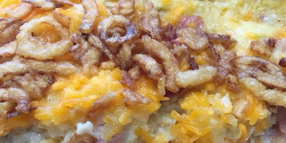 Leslie Bailey's Cheesy Breakfast Casserole