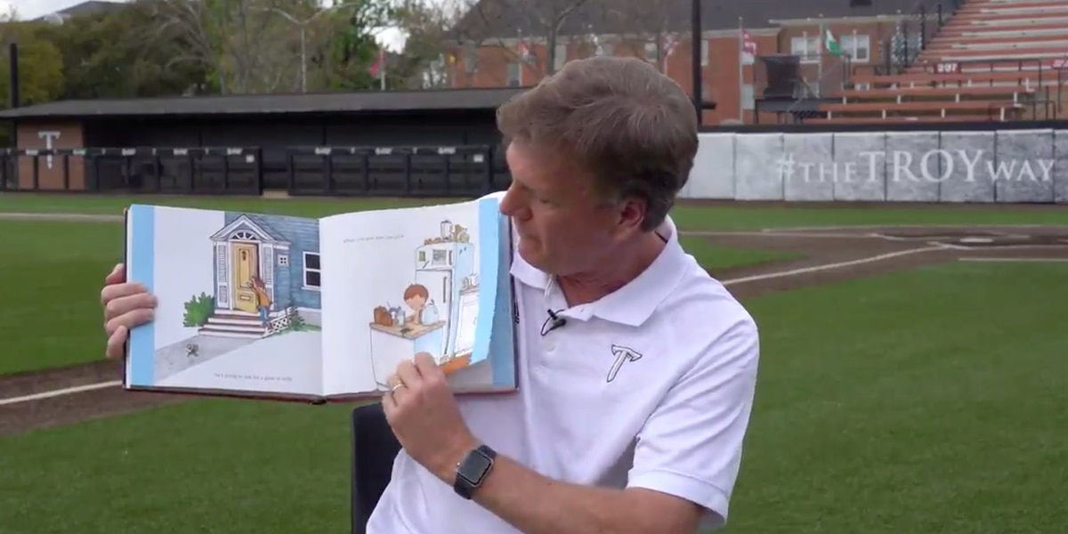 Troy Athletics debuts 'Reading with the Trojans'