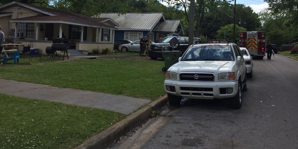 Possible skeletal remains turns out to be debris at Montgomery home