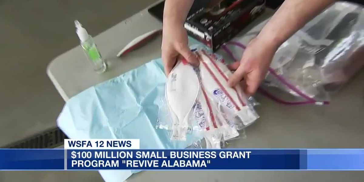 $100 million grant presented to 'Revive Alabama'
