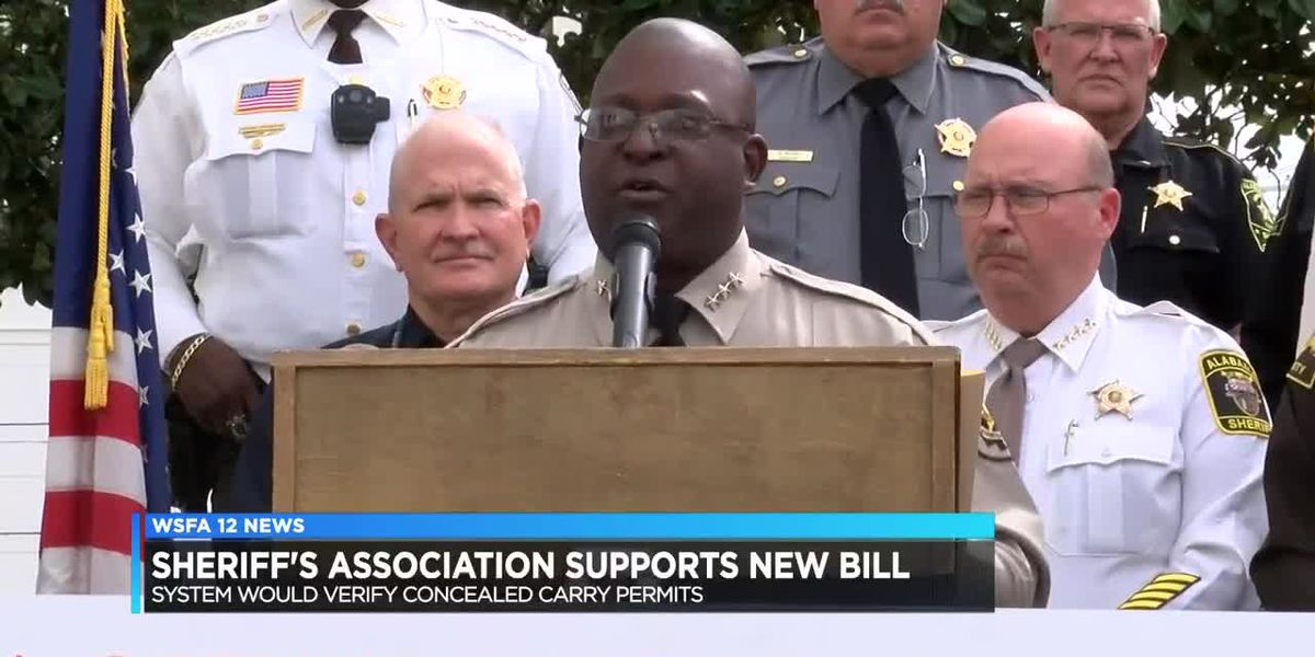 Sheriff's Association supports new bill