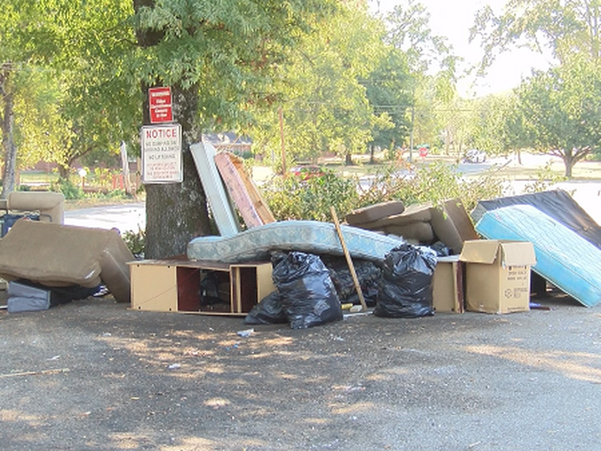 Montgomery residents fed up with litter problem