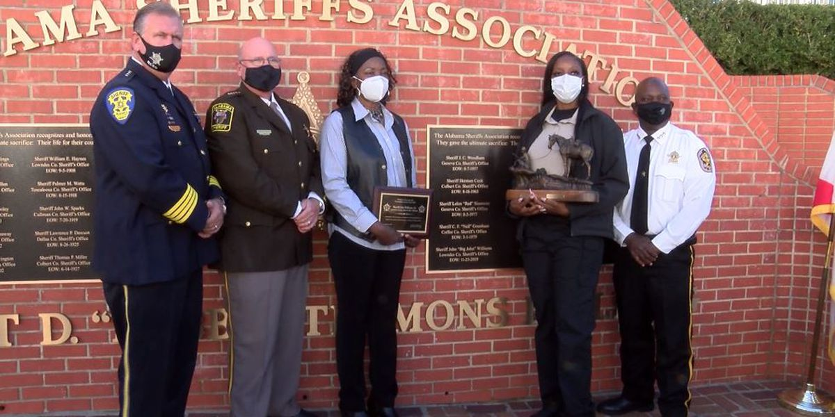 Memorial wall honors Alabama sheriffs killed in the line of duty