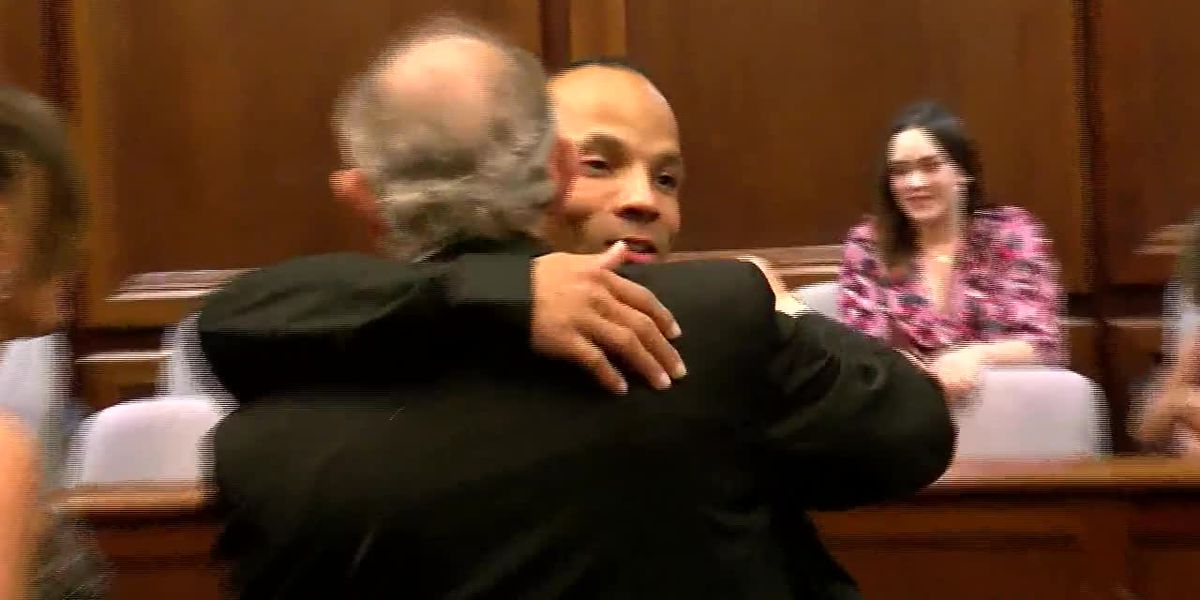 Wis. judge officiates wedding of former inmate