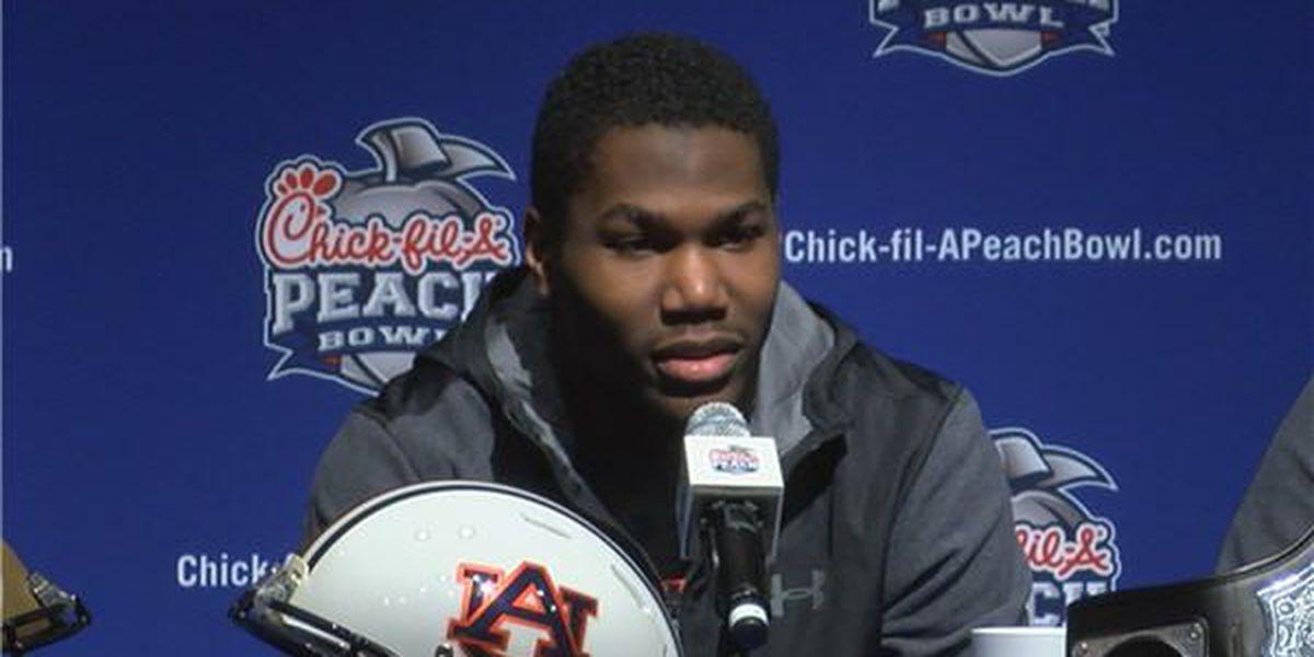 Kerryon Johnson: 'I feel 100 percent' going into Peach Bowl