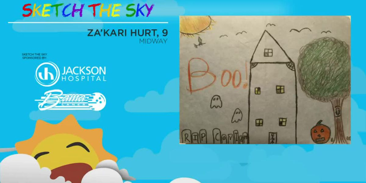 Sketch the Sky winner: Za'kari Hurt