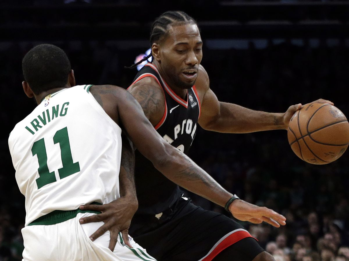 Kyrie scores 43, Celtics beat Raptors 123-116 in OT