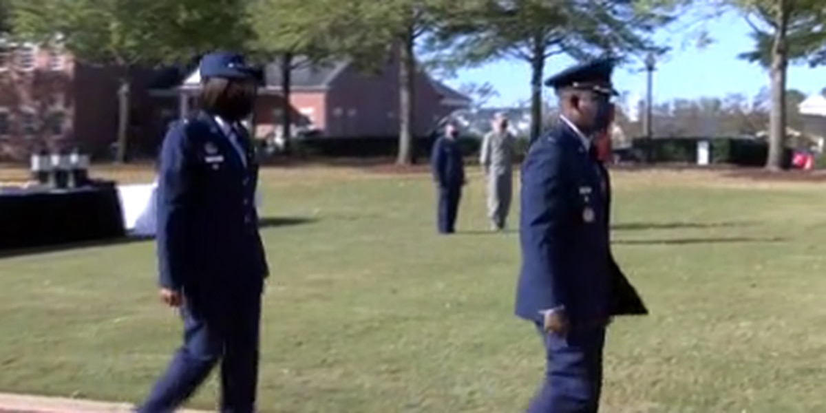 Air Force officer promotion ceremony held at Troy University