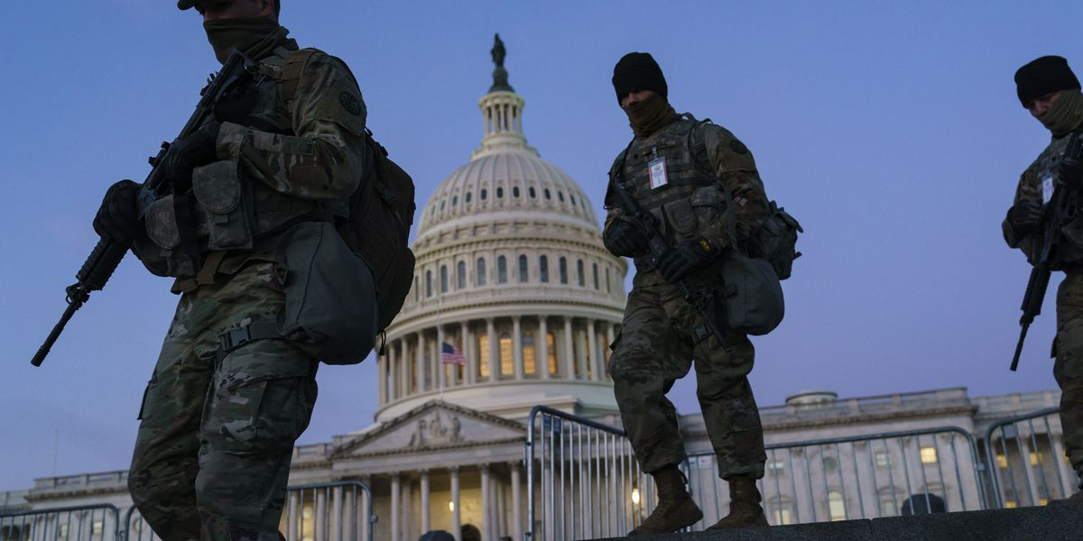 DC on lockdown and on edge before Biden's inauguration
