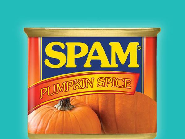 SPAM is jumping on the pumpkin spice bandwagon. Really.