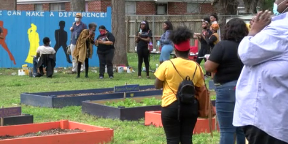 Black history celebration held at Nixon-Times Community Garden