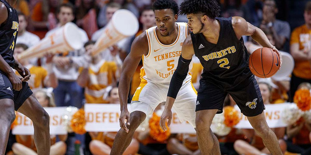 No. 20 Tennessee breezes past Alabama State 76-41