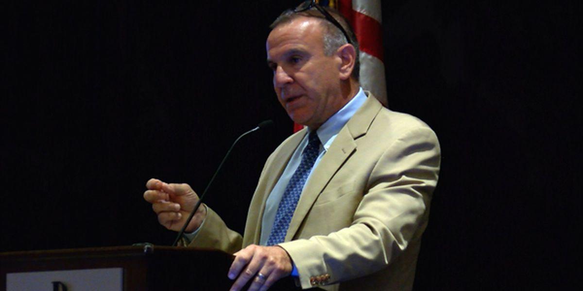 Former Newtown school superintendent visits Alabama