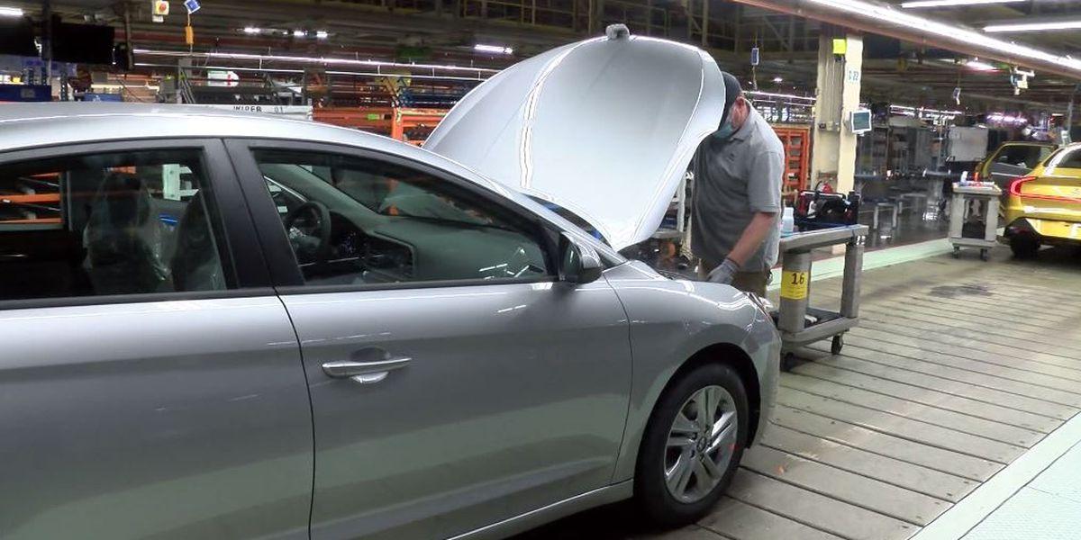 Hyundai production halted amid auto part shipping delays
