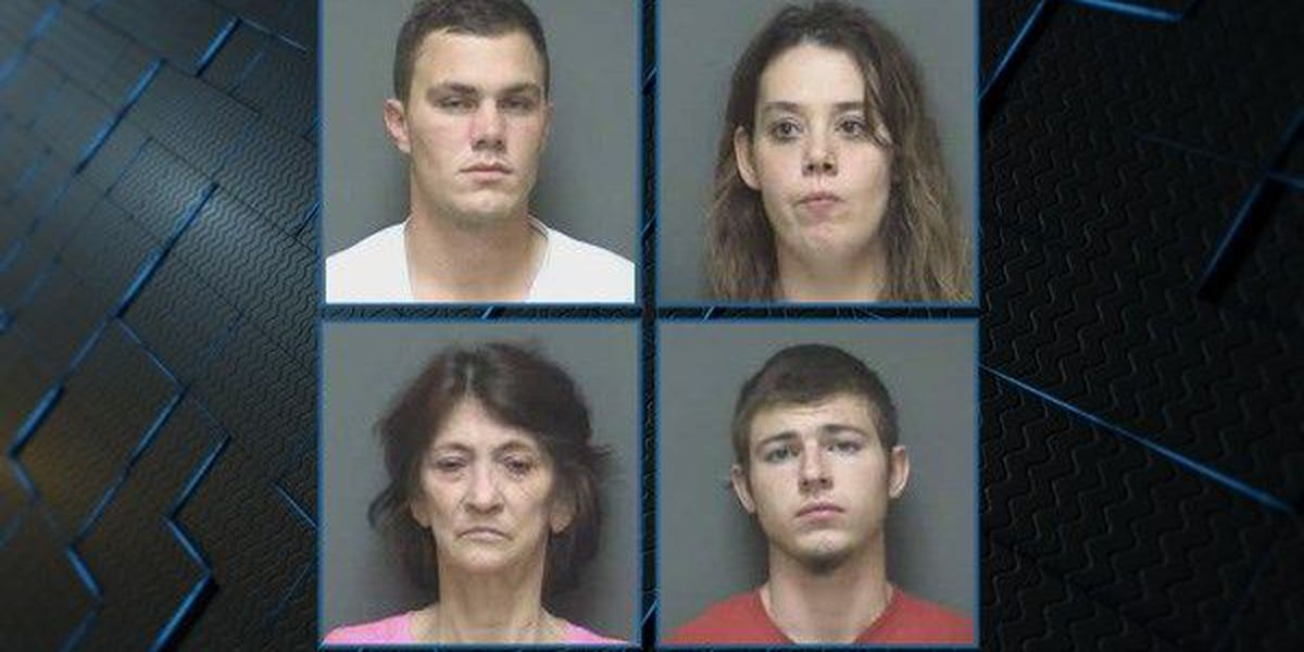 Dothan police charge four people for Sunday robbery