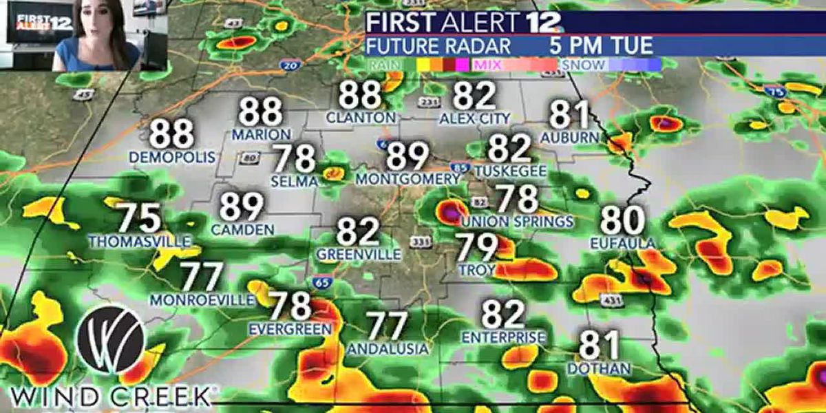Rain, storm risk stays elevated before heat ramps back up
