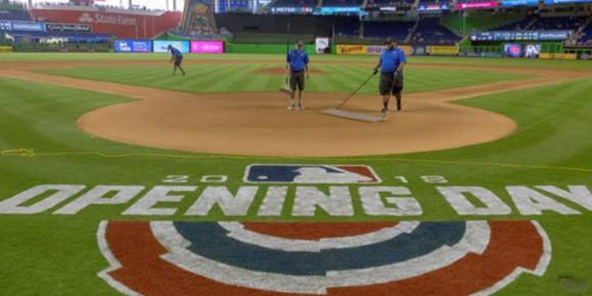 SLIDESHOW: Major League Baseball's Opening Day 2018