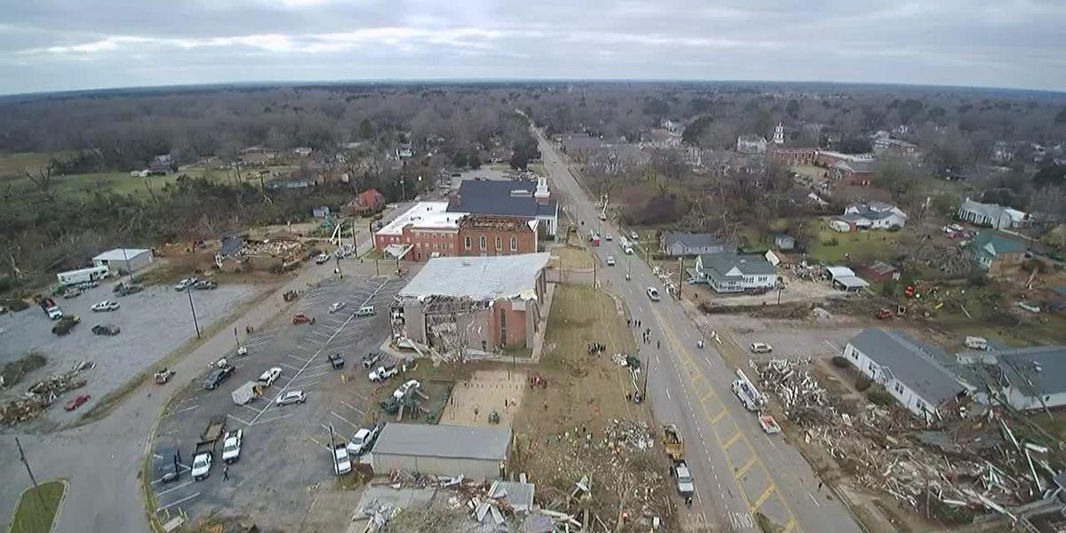 Wetumpka man's drone documents Wetumpka tornado recovery