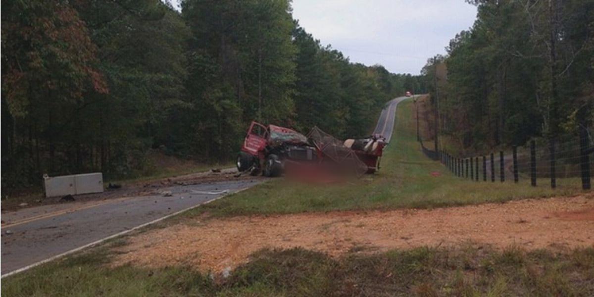 Volunteer firefighter in Coosa Co. killed when truck overturns