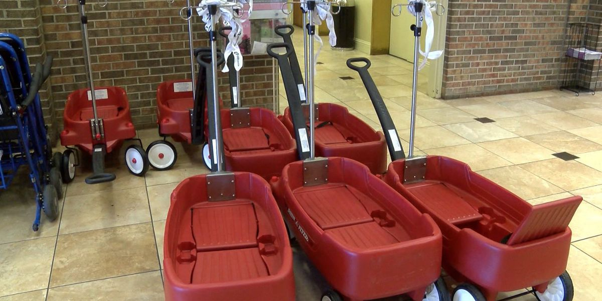 Montgomery hospitals get transport wagons for pediatric patients