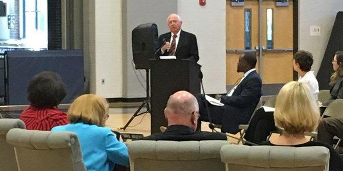 Interim state superintendent held nothing back at board of education meeting