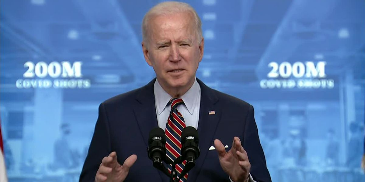 Biden appeals to younger Americans to get vaccinated