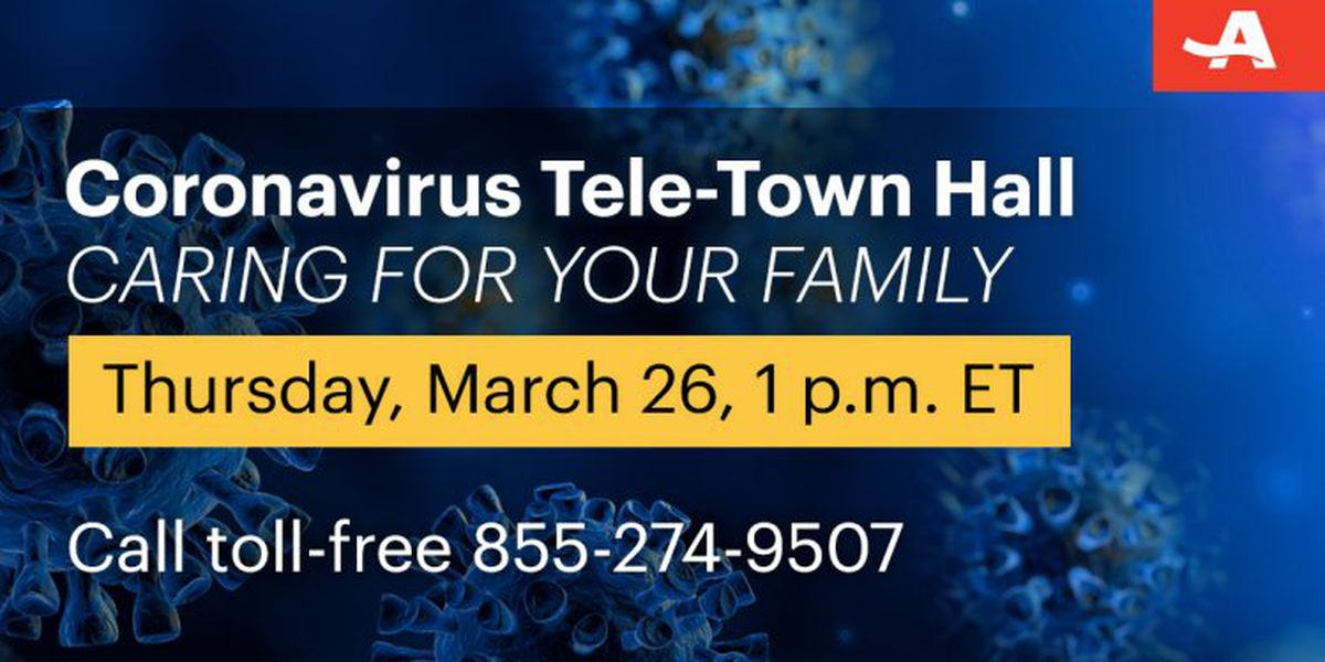 AARP provides Q&A with experts in coronavirus tele-town hall meetings