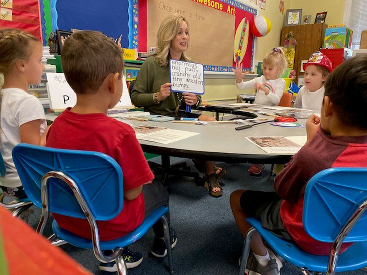 Class Act October winner keeps focus on students