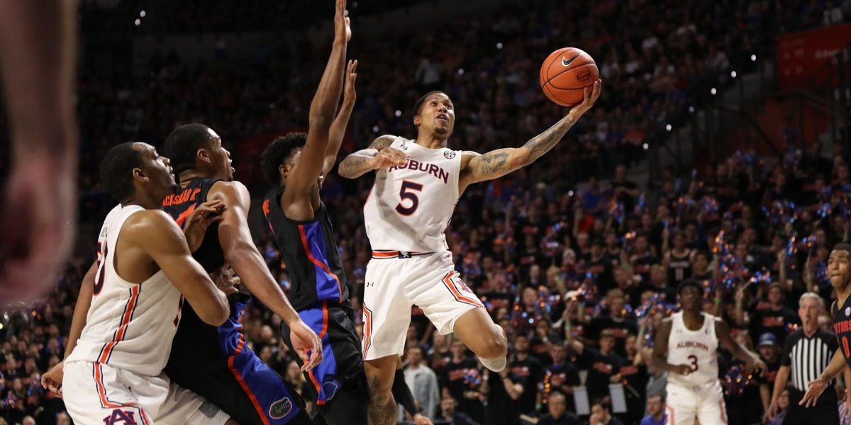 No. 4 Auburn held to season-low in scoring, Tigers suffer second loss