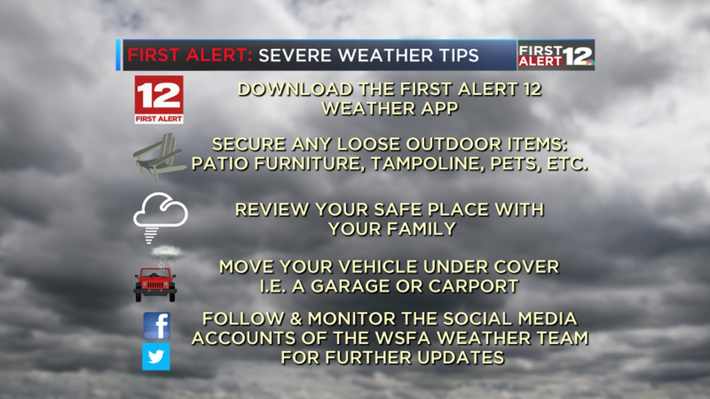 First Alert: Severe weather threat upgraded to moderate risk