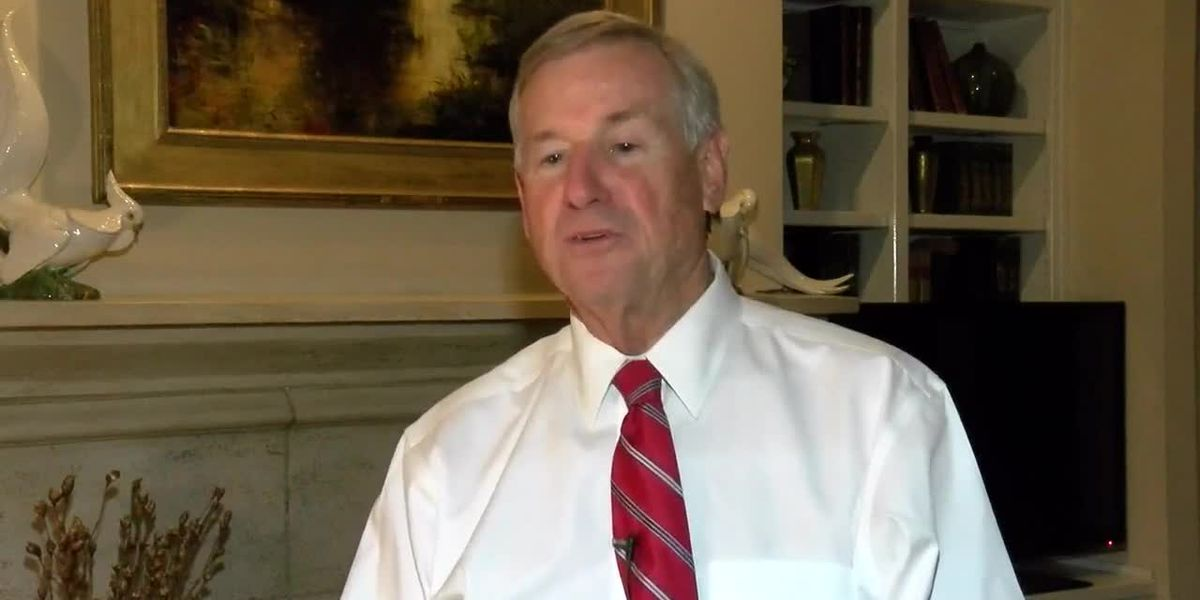 Montgomery Mayor Todd Strange reacts to election results