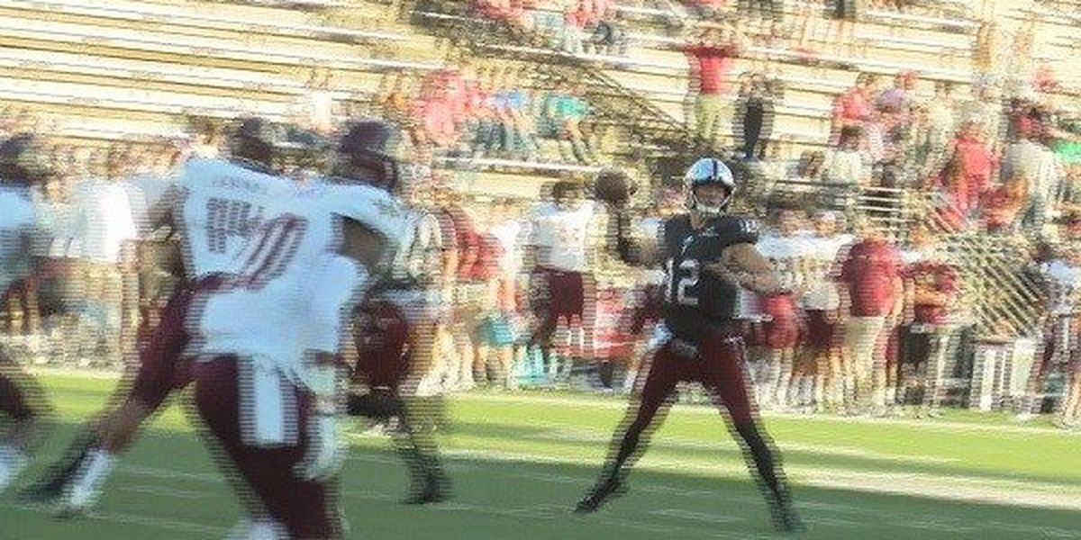 41-point first half seals Troy's 62-9 win over TX State
