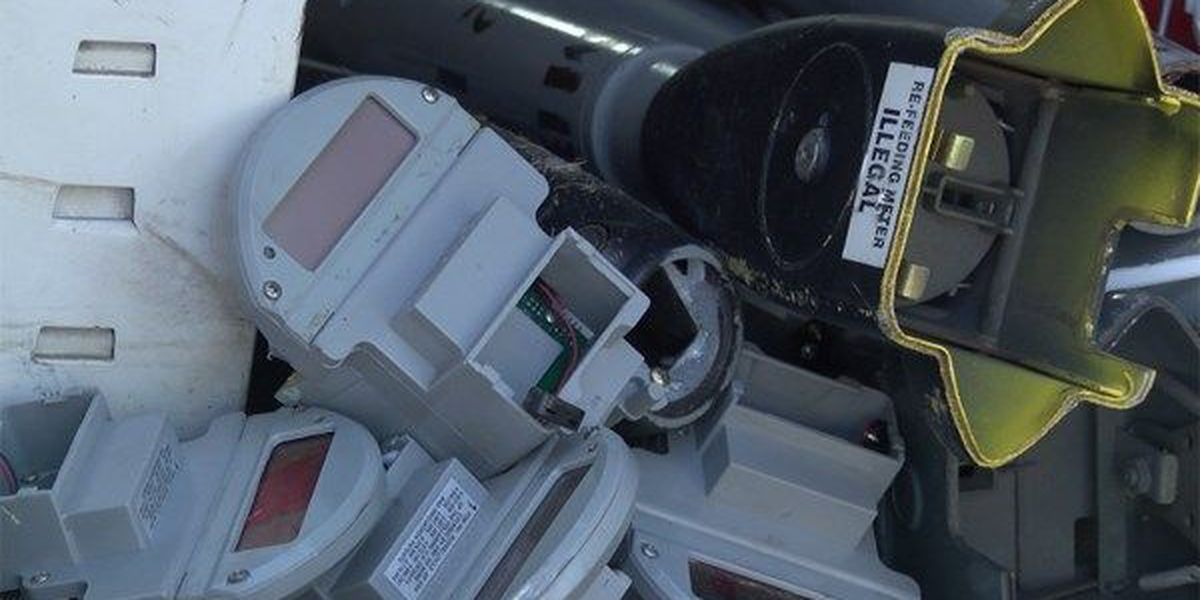 City of Montgomery investigating downtown parking meter thefts