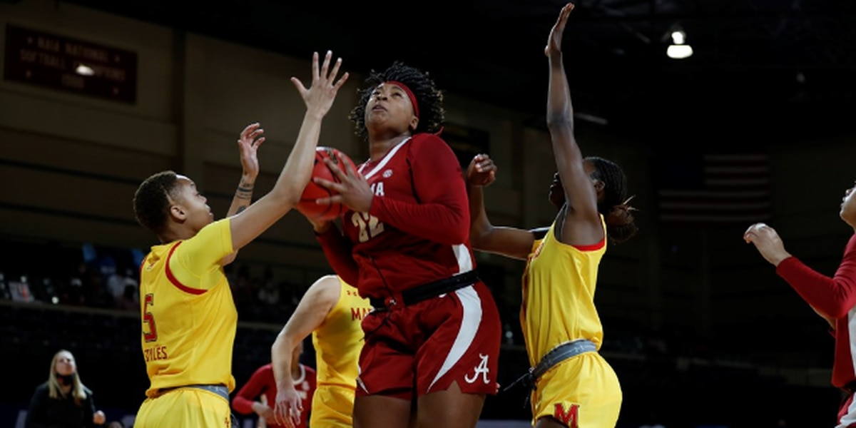Alabama women's basketball falls to Maryland in NCAA tournament