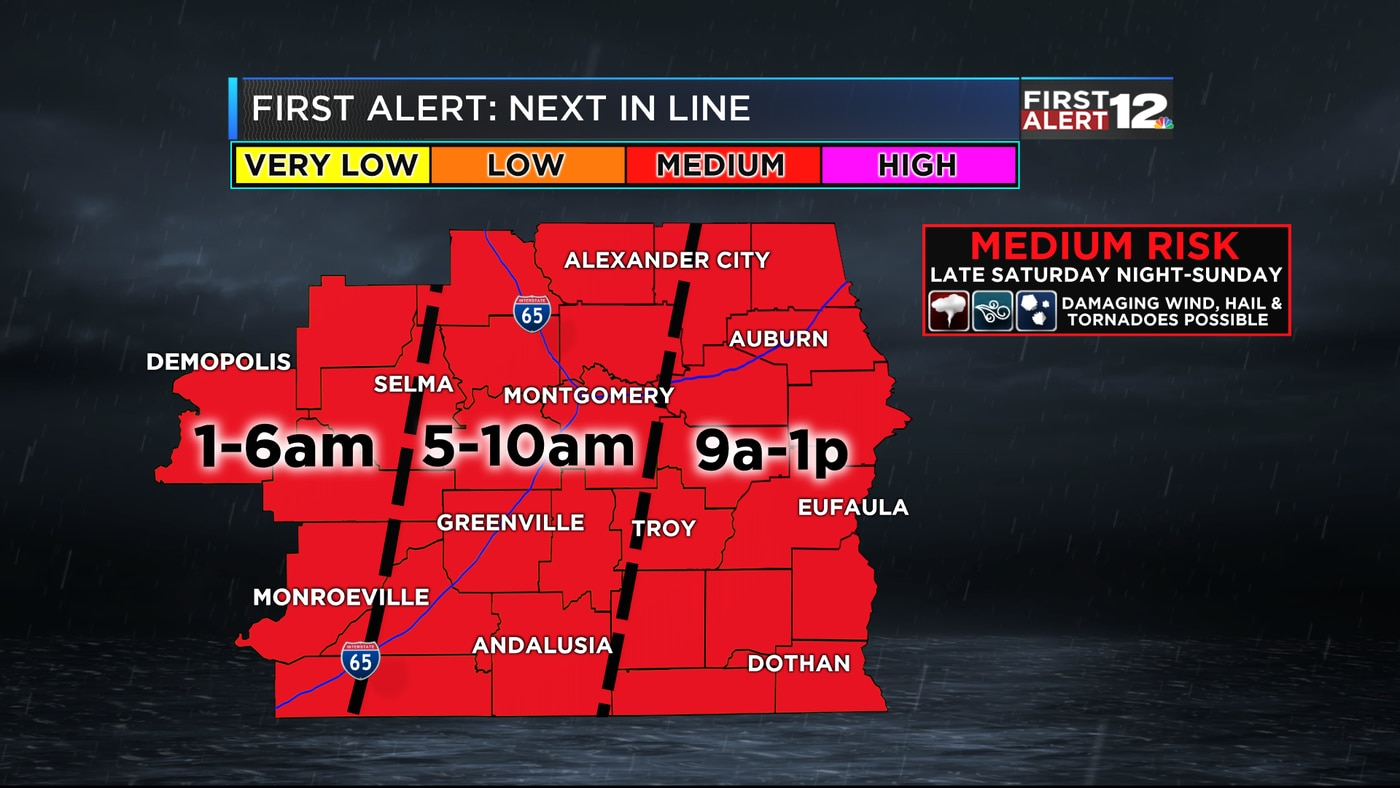 First Alert: Severe weather possible Saay night into Sunday on thunderstorm risk map, disaster risk map, flood risk map, social media risk map, world bank map, travel risk map, enterprise risk map, tsunami risk map, earthquake risk map, heat risk map,