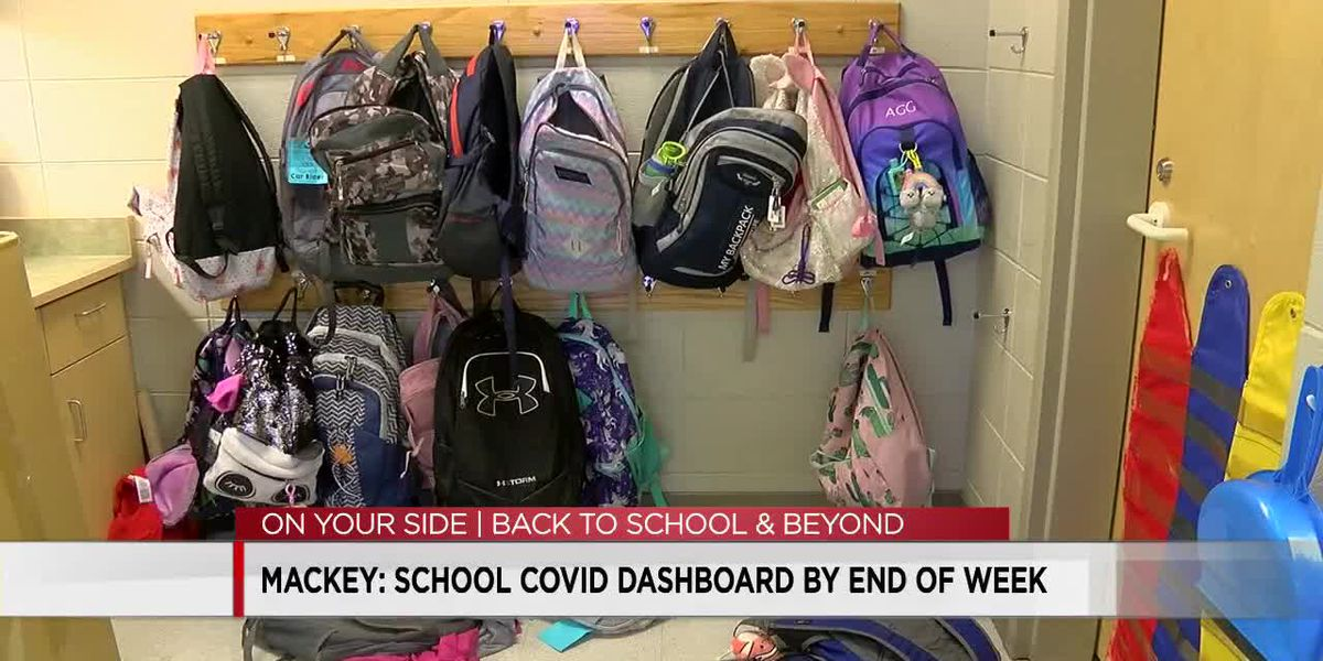 Mackey: School COVID-19 dashboard by end of week
