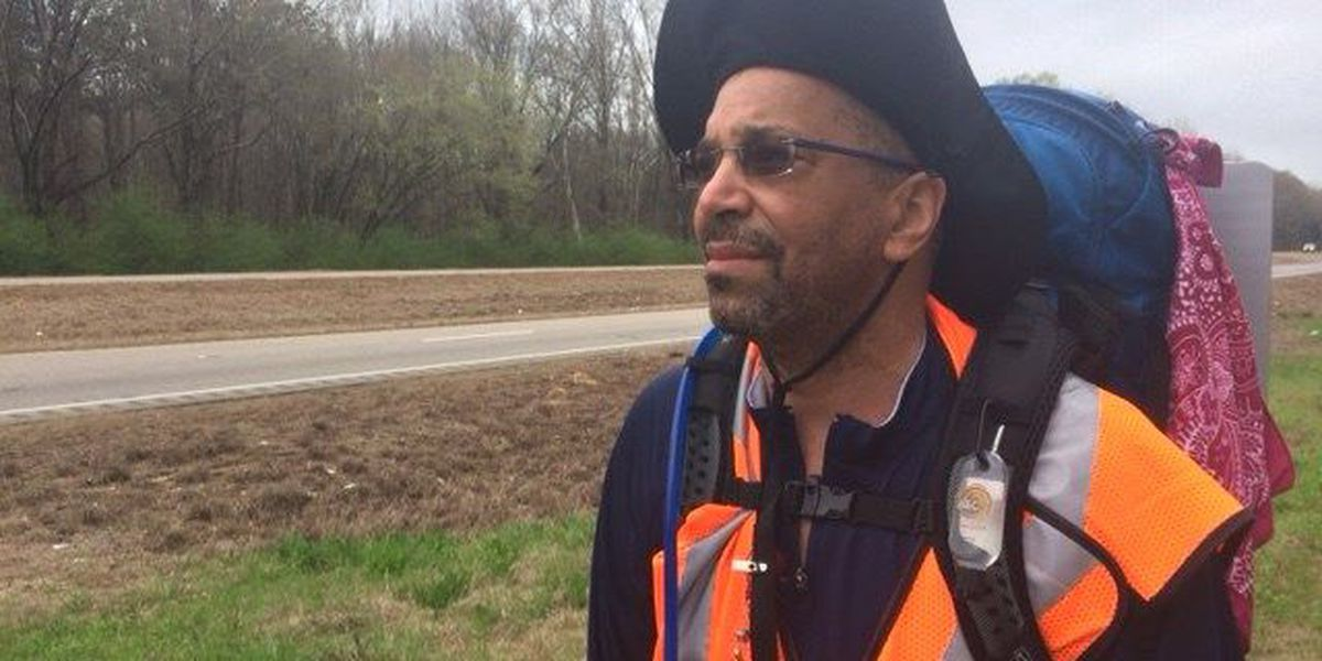 MA man quits job to honor MLK with walk from AL to TN