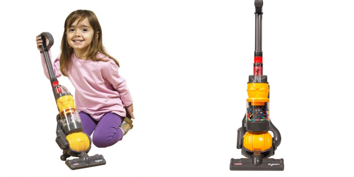 British toy company offers kid-size toy vacuum that actually cleans