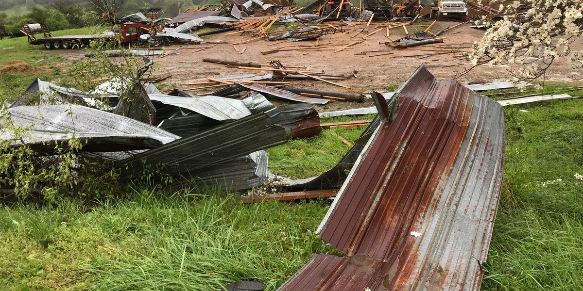NWS confirms EF-1 tornado hit Blount Co. Monday morning