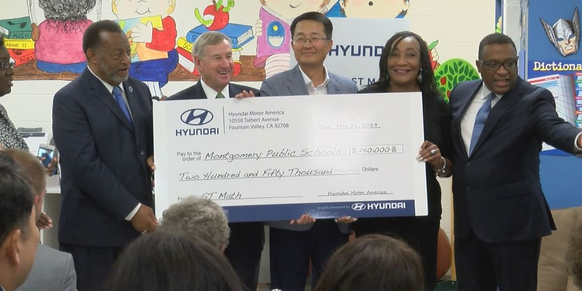 Hyundai donates $250K to MPS for STEM programs
