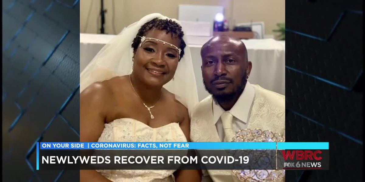 'We prayed for each other': Newlywed B'ham couple beats COVID-19