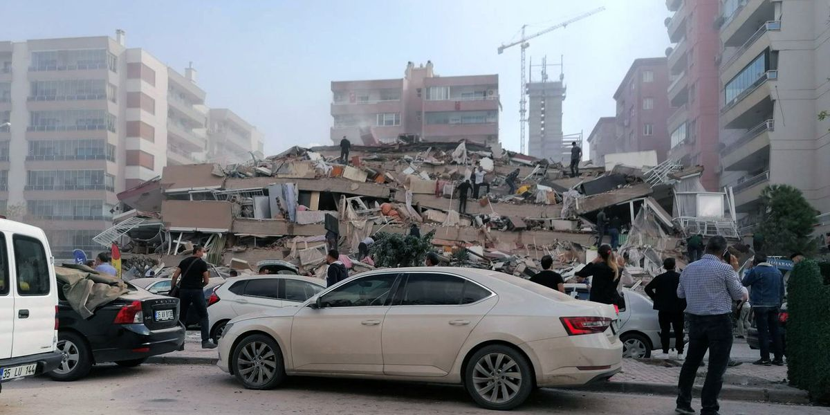 Turkish health minister: 4 dead, 120 injured in earthquake