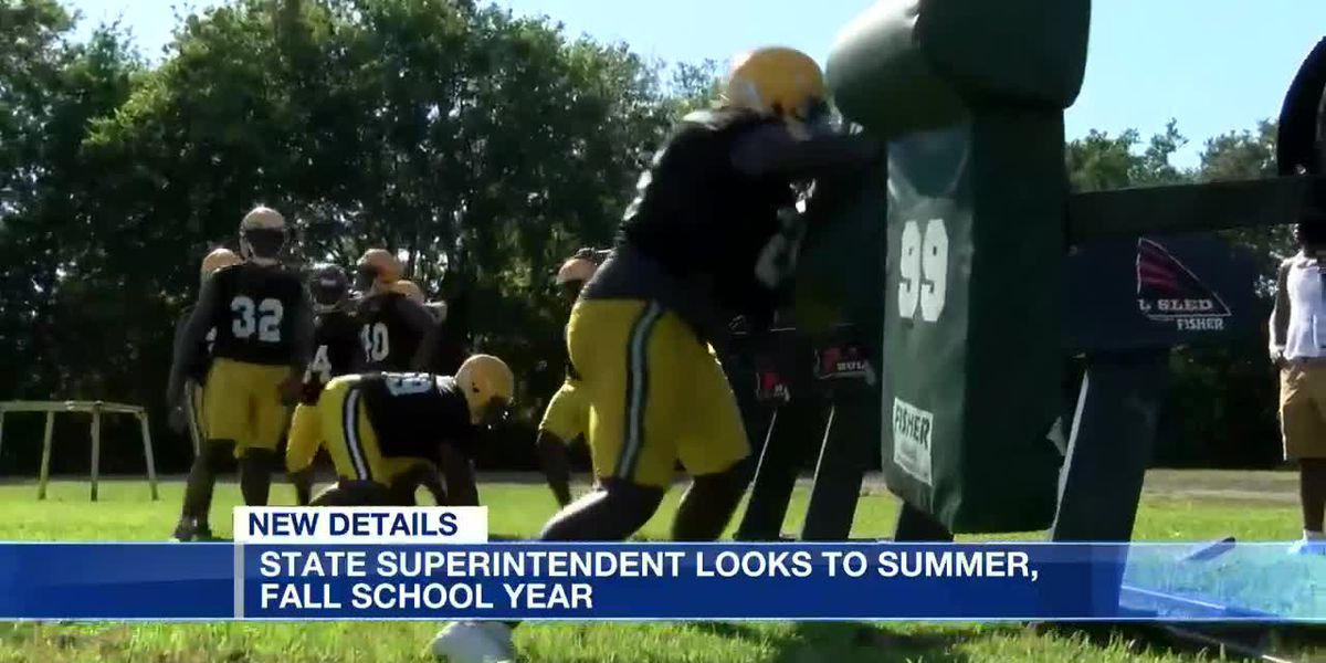 State superintendent looks to summer, fall school year