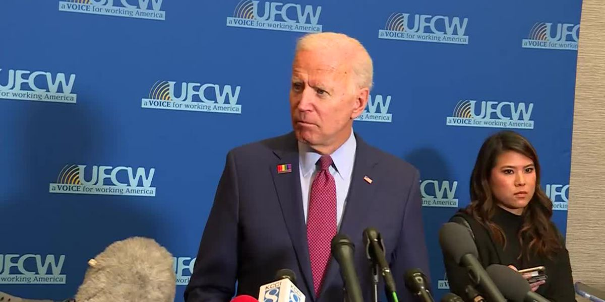 Biden defends his son, takes on Trump over ethics